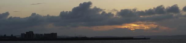 photo overlooking granton from Newhaven