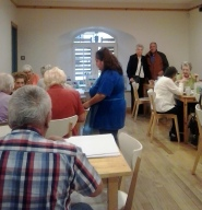 Photo of people in Newhaven Connections Cafe