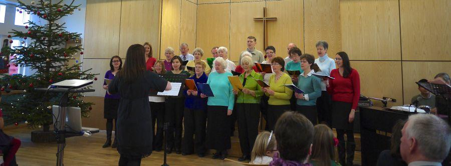 Photo of our Christmas Choir - 2013