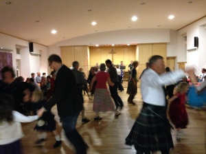 Newhaven Church ceilidh - 16th November 2013