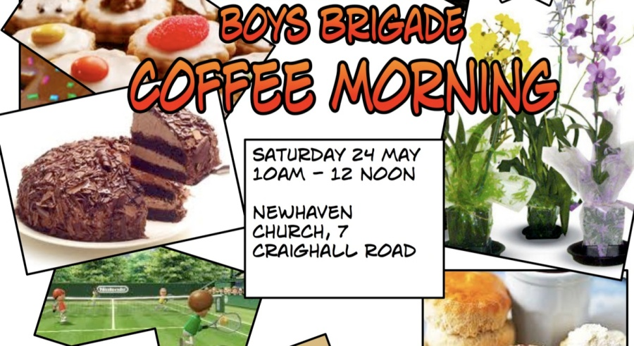 Boy's Brigade coffee morning 2014 Saturday 24th May 2014, 10-12 noon