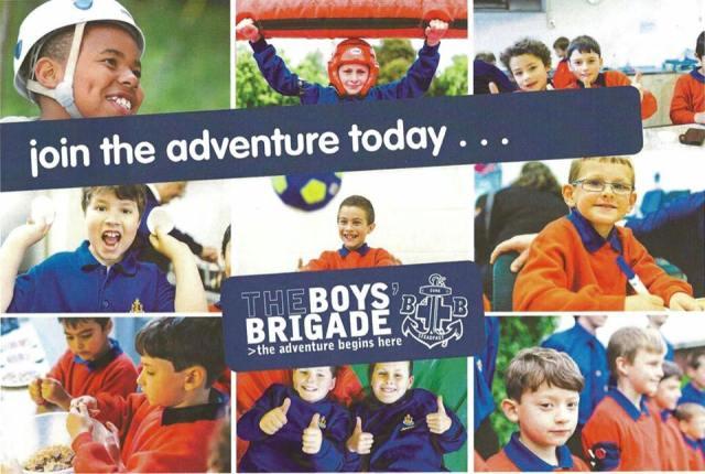 Boy's Brigade poster