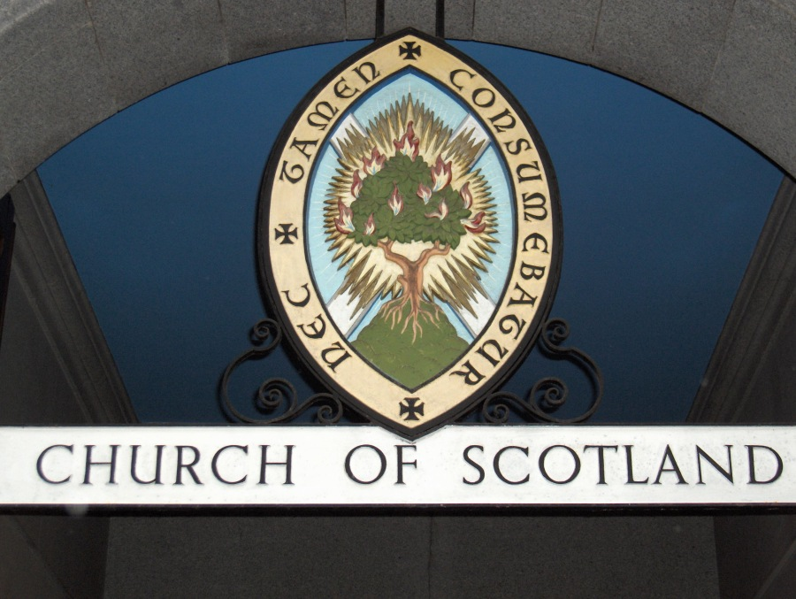 Church of Scotland Burning Bush Logo