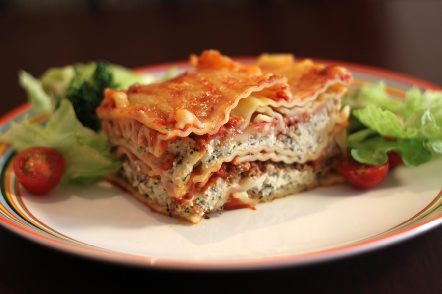 Photo of lasagne