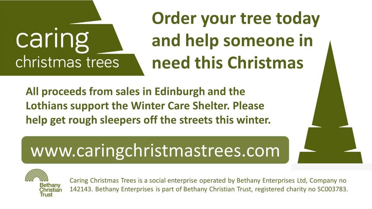 Caring Christmas Trees Edinburgh